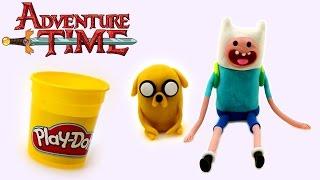 Hora de Aventura Animacion Jake y Finn Stop Motion Juguetes Play Doh en DCTC