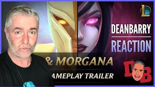 Kayle and Morgana The Righteous and the Fallen Gameplay Trailer - League of Legends REACTION