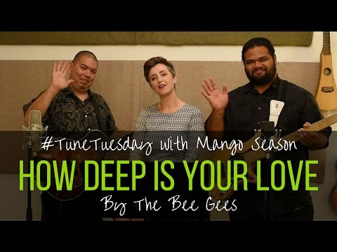 How Deep Is Your Love by The Bee Gees - Mango Season Cover
