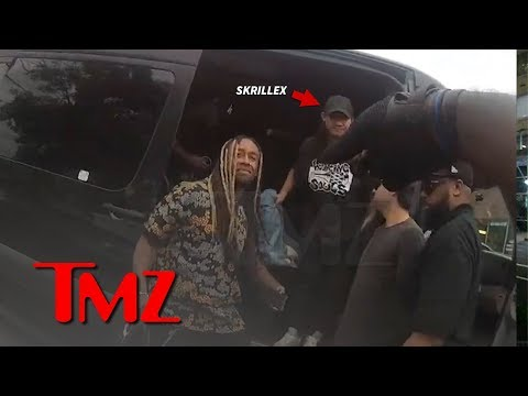 Ty Dolla $ign Drug Bust Video Shows Skrillex Was There Too | TMZ