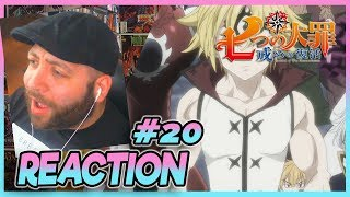 SEVEN DEADLY SINS REVIVAL OF THE TEN COMMANDMENTS Episode 20 REACTION