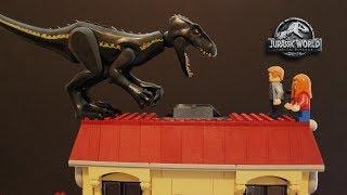 LEGO Cyclops - Jurassic World Fallen Kingdom - PART 2 - Stopmotion