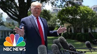 President Donald Trump: 'If We Had The Right Laws,' Migrant Dad, Girl Might Be Alive   NBC News
