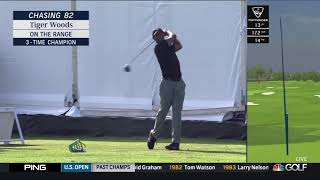 Tiger Woods / 3-Wood & Driver on the Range (2019 US Open)