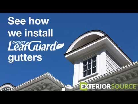 Exterior Source Slideshow: How We Install Your Gutters