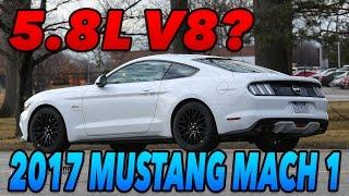 2018 Mustang Mach 1 - 5.8L V8?