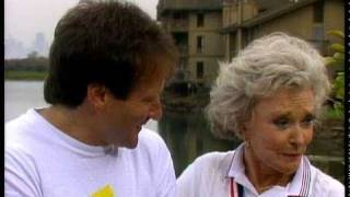 Superstars and Their Moms 1984 Robin Williams & Laurie Williams