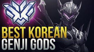 KOREAN GENJI GODS - Overwatch Montage