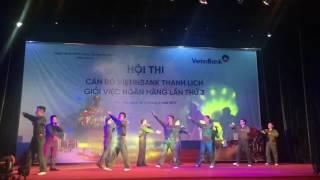 Phần Thi Tài năng VietinBank Phúc Yên - Cán bộ Vietinbank thanh lịch giỏi việc ngân hàng lần thứ 3