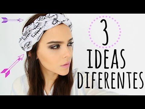 Haz accesorios para el cabello con bufandas mascadas yuya for Decoraciones para el pelo