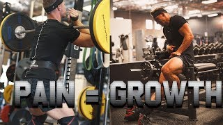 FIRST TIME TRAINING LEGS IN A WHILE !!! SWOLE SERIES S2E2