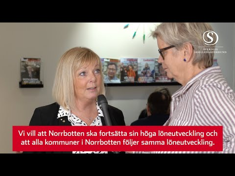 Lönestatistik 2020 för skolledare - Norrbotten 6,3%