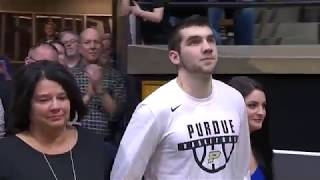 Purdue Seniors Honored