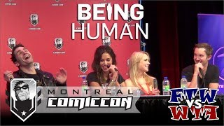Being Human – Montreal Comic Con 2012 – Full Panel