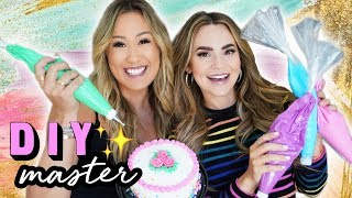 DIY MASTER 10: Cake Decorating w/ Rosanna Pansino