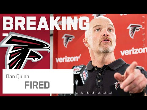 Atlanta Falcons Fire Dan Quinn as Head Coach