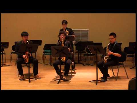 Brightest Threads by Robert Davidson [Ruffian Saxophone Quartet]