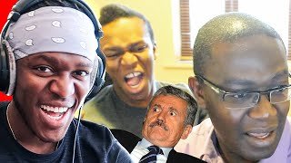 Reacting To Old KSI Funny Moments