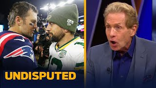 Aaron Rodgers has 10x the pressure as Tom Brady in NFC Championship — Skip   NFL   UNDISPUTED