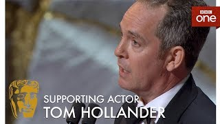 Tom Hollander wins the Best Supporting Actor BAFTA - The British Academy Television Awards 2017