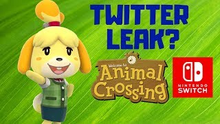 Potential Animal Crossing Switch Leak on Twitter! Animal Crossing Direct Incoming?