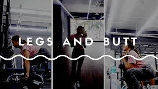 LEGS and BUTT workout | GYM | First time at Anytime Fitness