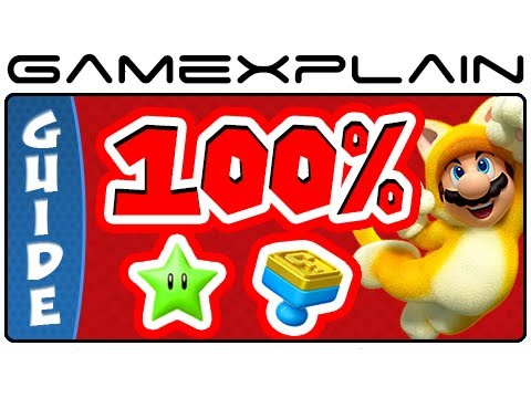 All 380 Green Stars & 85 Stamps In Super Mario 3D World In 60 Minutes - 100% Gide & Walkthrough - Smashpipe Games Video