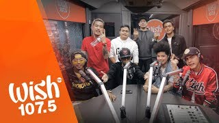 """Ex Battalion performs """"Hayaan Mo Sila"""" LIVE on Wish 107.5 Bus"""