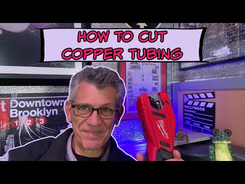 How to Cut Copper Tubing / the easy way