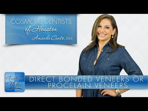 What's Better? Direct Bonded Veneers or Porcelain Veneers? ­ Cosmetic Dentists of Houston