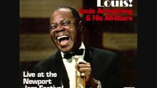 Louis Armstrong and the All Stars 1960 After You've Gone / The Saints PLUS ... (Live)