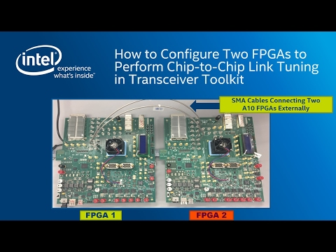 Chip to Chip link tuning Transceiver Toolkit