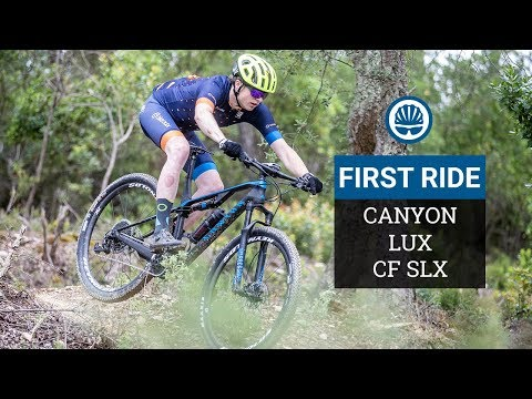 Canyon Lux CF SLX First Ride -  All New Full Suspension XC Platform