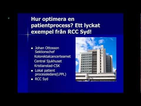 Hur optimera en patientprocess? Ett lyckat exempel från RCC syd.