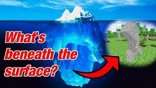 The Minecraft Iceberg Explained