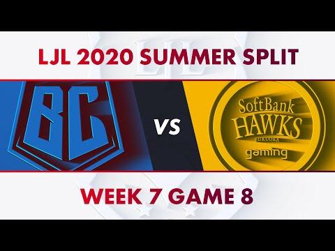 BC vs SHG|LJL 2020 Summer Split Week 7 Game 8