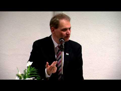 Molnár Róbert kübekházi polgármester előadása - Szabadszállás