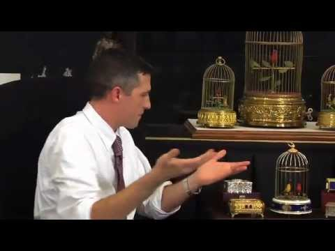 Singing Automaton Bird Boxes & Cages | Musical Bird | Buy, Sell, Appraise | Feb. 25th Auction