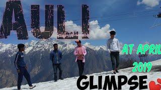 Ski destination auli at april. Uttrakhand