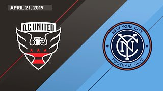 HIGHLIGHTS: DC United 0-2 NYCFC