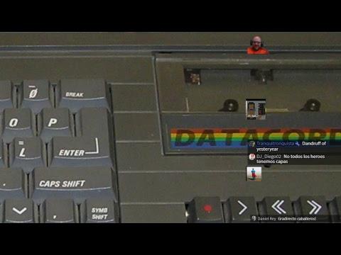Directo. Cargas reales, a ZX Spectrum story. Con Juanjo & Darío Ruellan