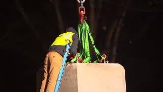 UNC Silent Sam: Watch raw video of removal of Confederate statue