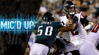 "Jordan Hicks Mic'd Up vs. Falcons ""Philly Special Again?"" 