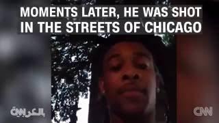 لحظة مقتل أمريكي أثناء قيامه بث مباشر على فيسبوك - فيديو