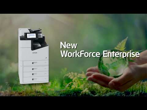 Epson WorkForce Enterprise WF-C21000 - designed to support a sustainable future