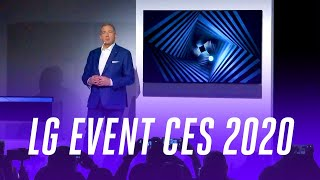 LG at CES 2020 in under 12 minutes