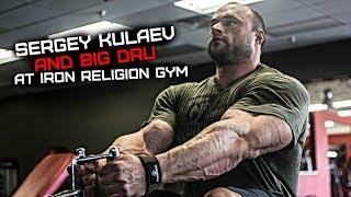 Sergey Kulaev, Big Dru, Egor Rubanov - Back Workout at Iron Religion Gym