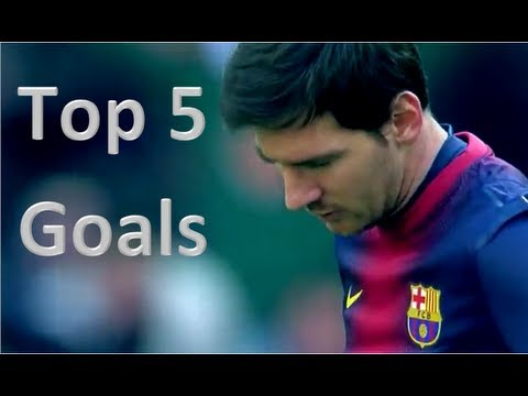 Lionel Messi - Top 5 Goals Ever || HD - YouTube