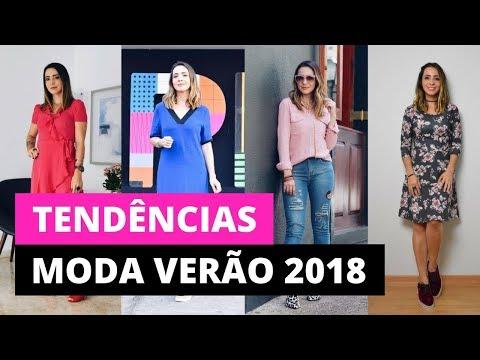 Tendências de moda verão 2018