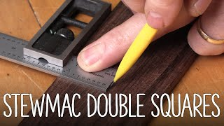 Watch the Trade Secrets Video, StewMac Precision Double Squares